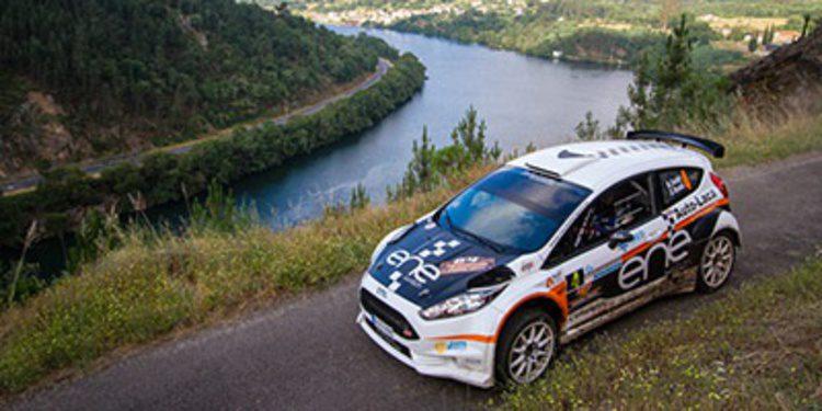 Miguel Fuster amo y señor del Rally de Ourense en el CERA