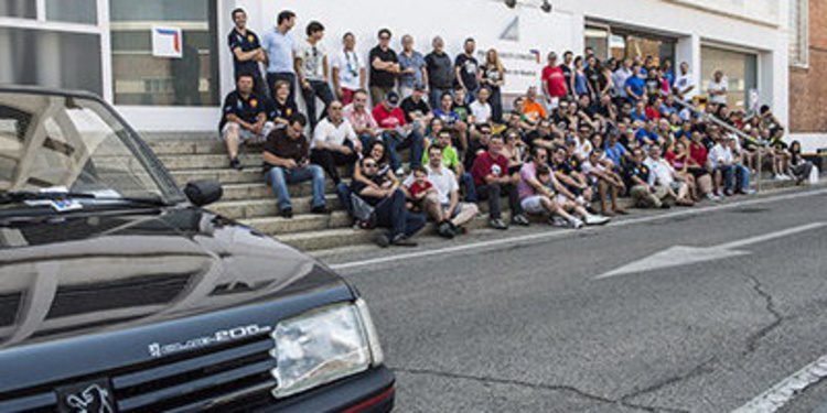Peugeot y el Club 205 por el 30 aniversario del 205 GTI