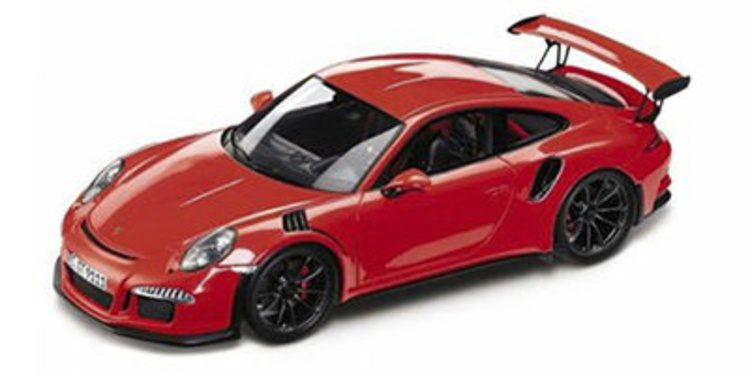 Filtrado el Porsche 911 ¿GT3 RS? por una miniatura