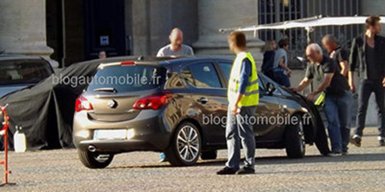 La nueva generación del Opel Corsa, al desnudo