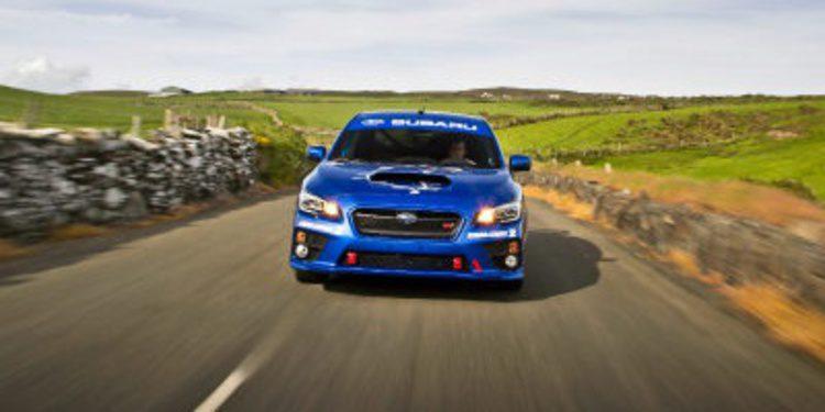 Nos subimos en el Subaru STI de Higgins: rey de Isla de Man