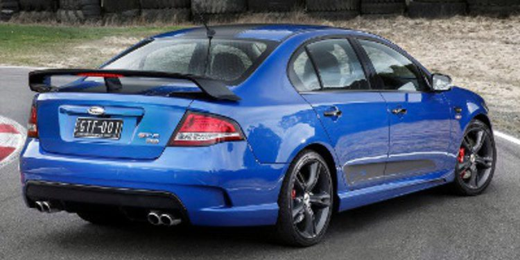 Ford Australia lanza el brutal FPV Falcon GT F