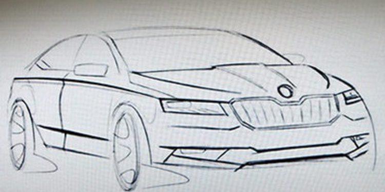 El nuevo Skoda Superb calienta para su tercera generación