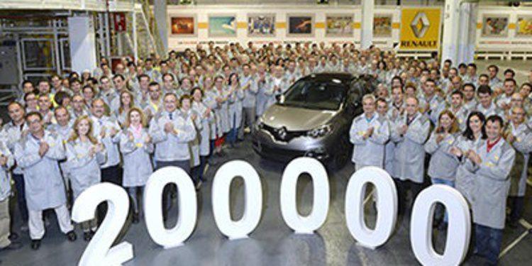 Renault fabrica en Valladolid el Captur 200.000