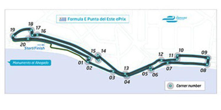 Punta del Este desvela su trazado para la Formula E