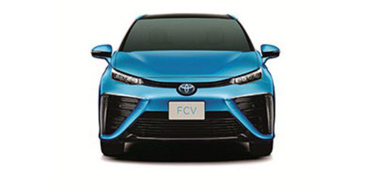 Toyota presenta el nuevo FCV