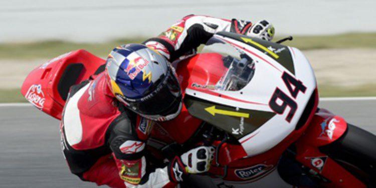 Moto2 comienza con Jonas Folger al frente en Holanda