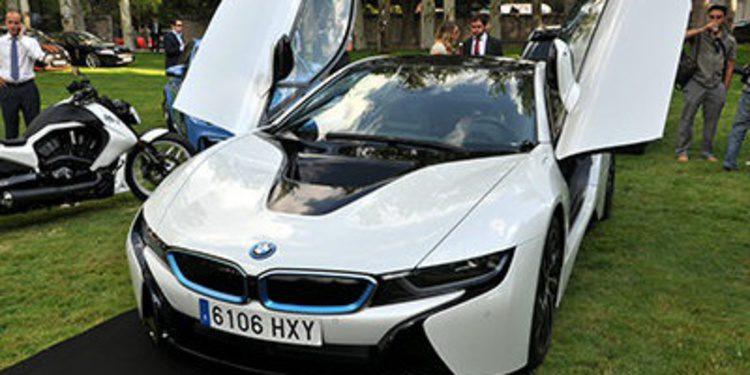 El BMW i8 recibe la Copa de Oro en Autobello 2014