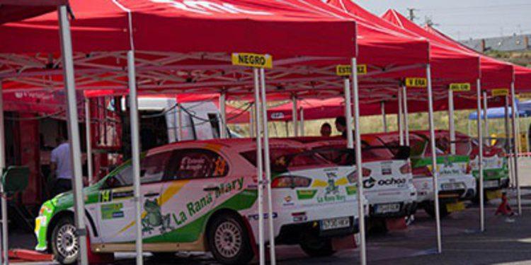 Trofeos y copas en el Rally de Tierra de El Bierzo