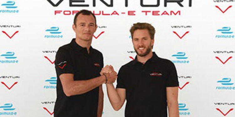Nick Heidfield y Sarrazin correrán con Venturi en la Formula E