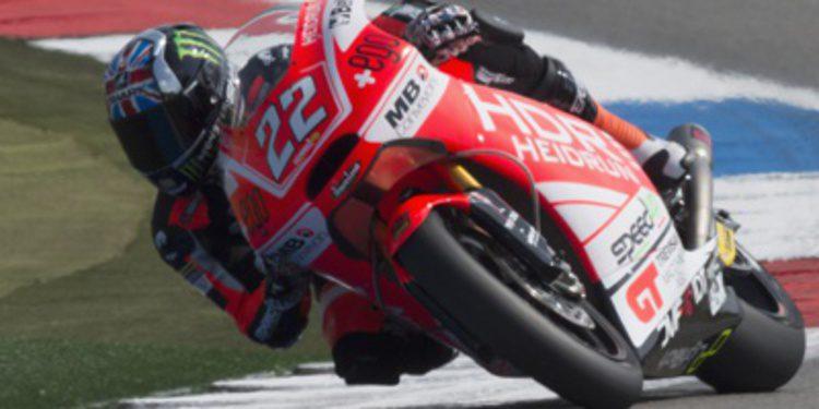 La lluvia de Assen no frena a Sam Lowes en el FP3 Moto2