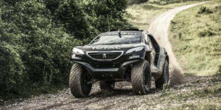 Conociendo el Peugeot 2008 DKR del Dakar 2015