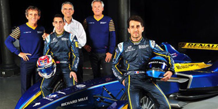E.Dams en Formula E con Buemi y Nicolas Prost