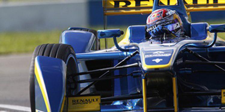 Sebastien Buemi repite liderato en el tercer día de test de la Formula E