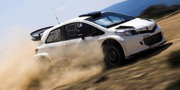 Toyota hace nuevos test con el Yaris WRC en Cerdeña