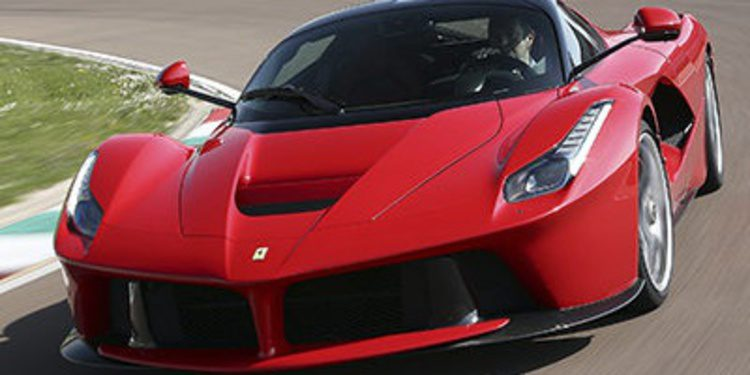 Ferrari prueba al límite el LaFerrari XX