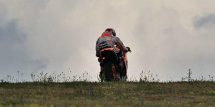 Primer día de test para Márquez y Pedrosa en Brno
