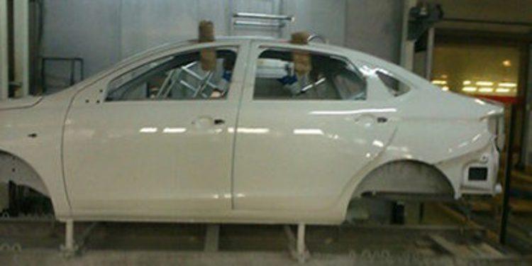 Se descubre la carrocería del nuevo Lada Vesta