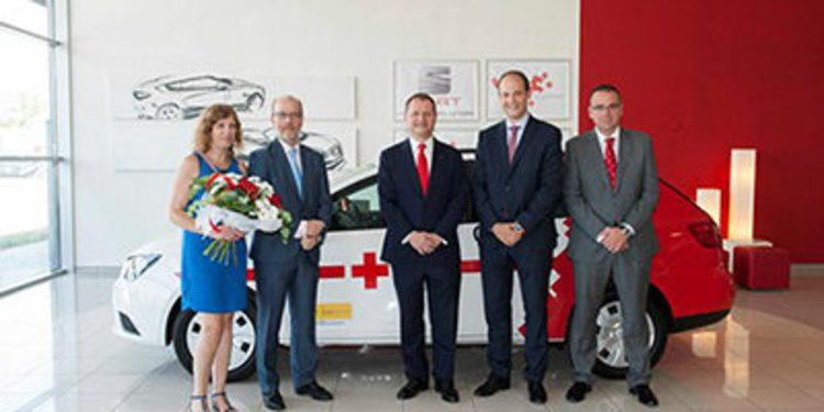 Cruz Roja Española presenta con Seat su nueva flota