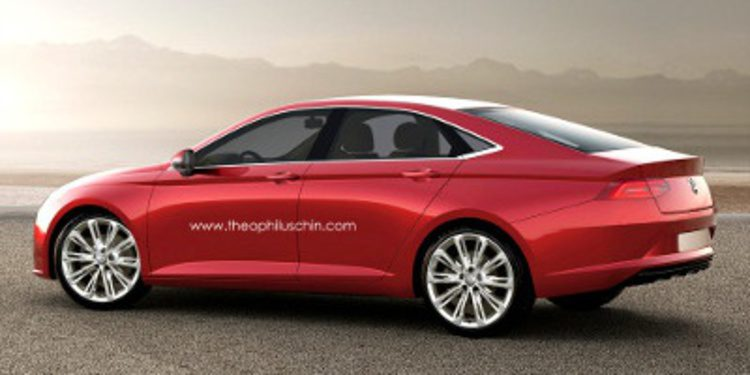 Adelanto del futuro aspecto del Volkswagen Passat CC