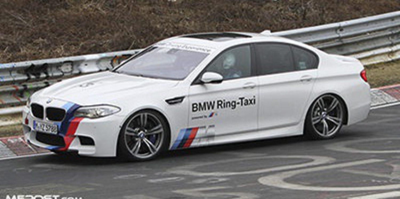 Un BMW M3 GTS y M5 Ring Taxi luchan en Nürburgring
