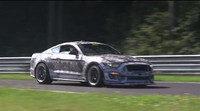 El próximo Ford Shelby Mustang cazado en Nürburgring
