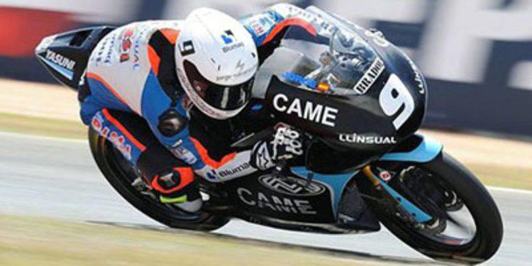 Jorge Navarro piloto de Marc VDS Racing en Moto3
