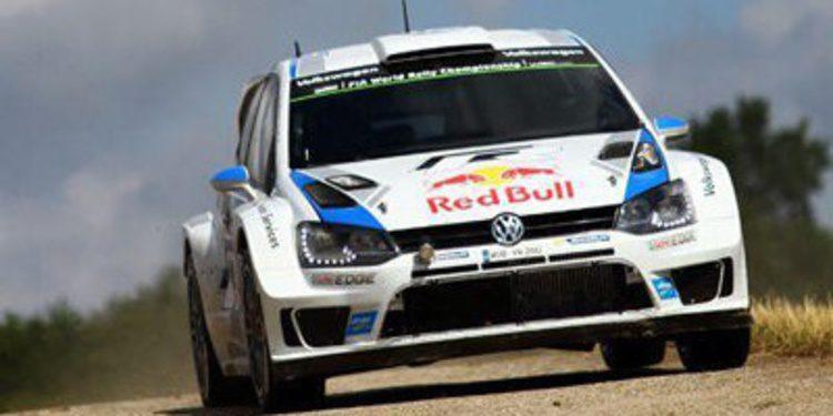 Latvala lidera el shakedown del Rally de Finlandia