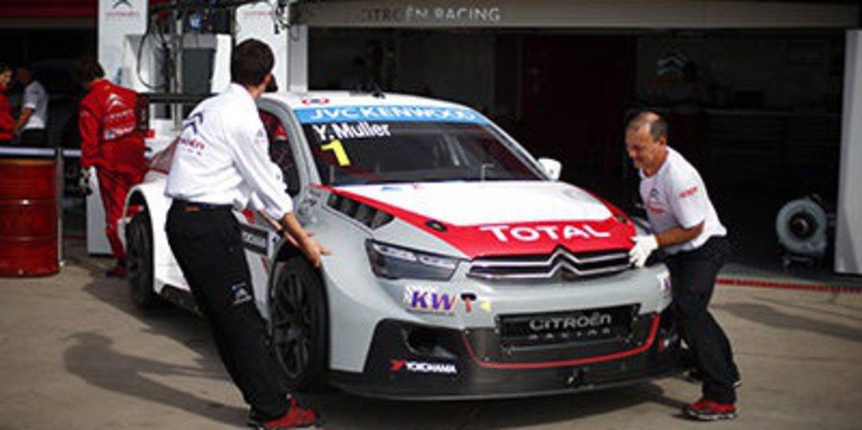 Yvan Muller se lleva los segundos libres del WTCC en Termas