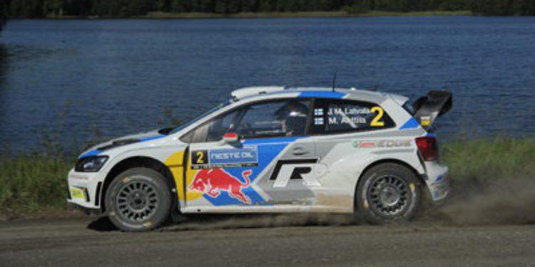 Jari-Matti Latvala gana el Rally de Finlandia del WRC 2014
