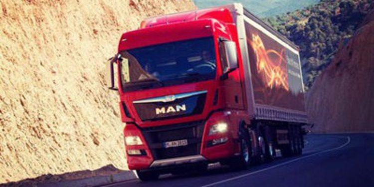 Motores de seis cilindros Euro 6 para los MAN TGX