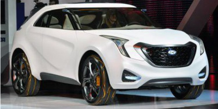 Hyundai trabaja ya en un pequeño crossover