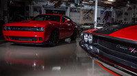 Jay Leno prueba los 707 caballos del Dodge Challenger Hellcat