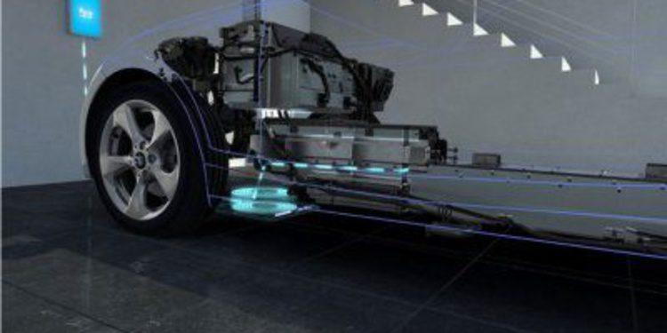 BMW desarrolla una estación de carga por inducción