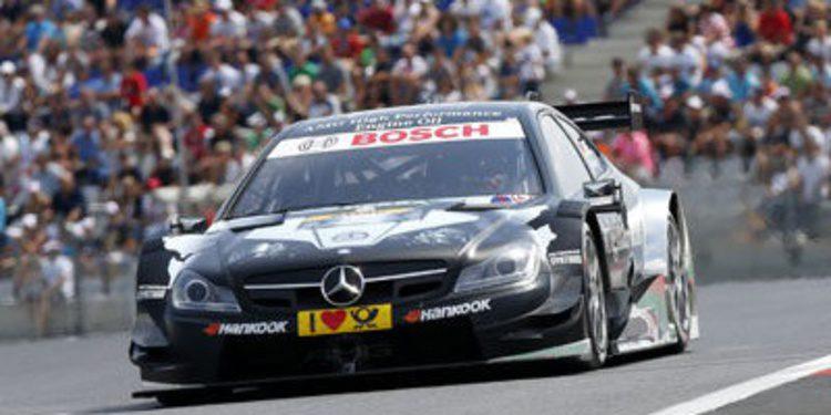 Mercedes se reestructura en el DTM