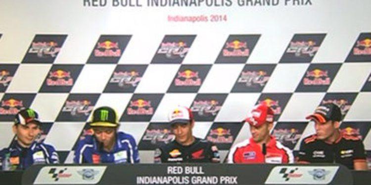 Rueda de prensa oficial del GP de Indianápolis de MotoGP 2014
