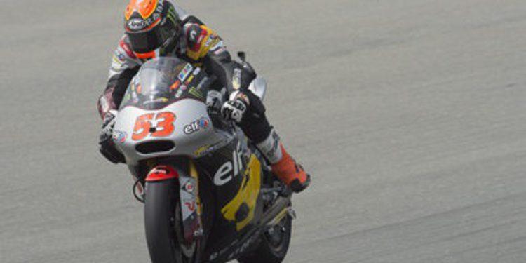 Rabat y Aegerter se 'pelean' por dominar el FP1 de Moto2