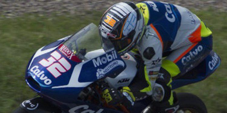 Isaac Viñales se anota el FP2 de Moto3 en Indy