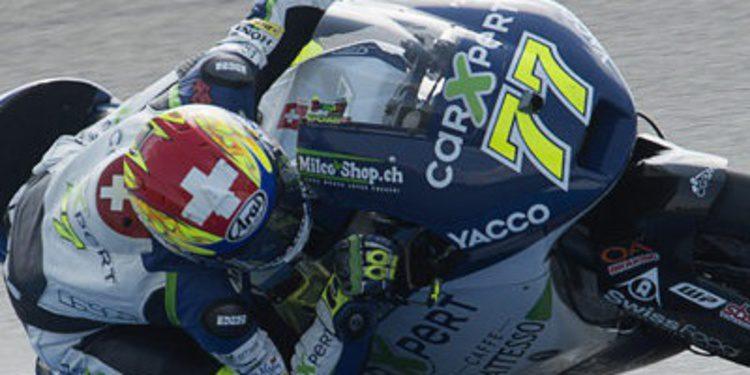 Dominique Aegerter declara su fueza en Moto2 en Indy