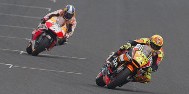 El viernes de MotoGP en Indy y sus declaraciones