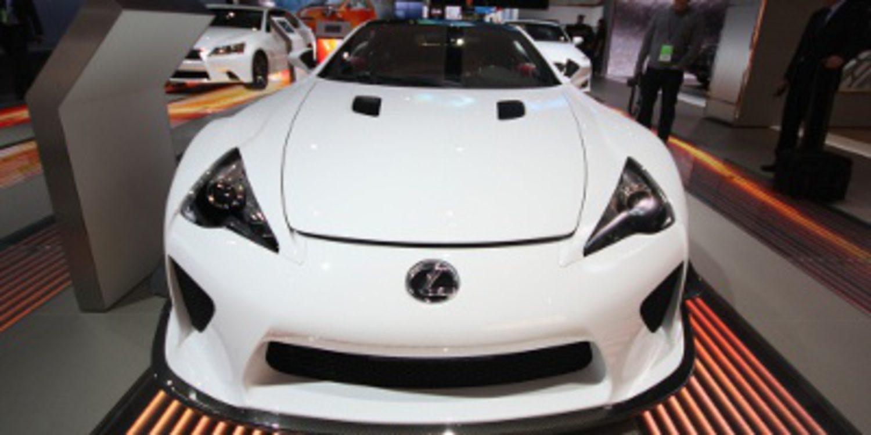Oficial: El Lexus LFA tendrá sucesor