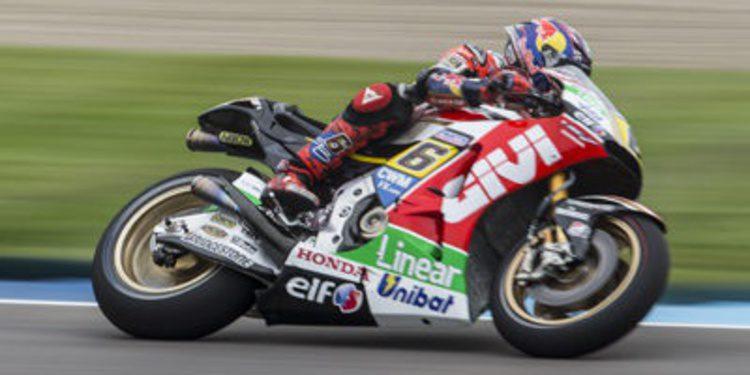Stefan Bradl encabeza el paso a la Q2 de MotoGP en Indianápolis