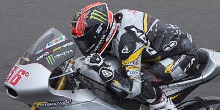 Mika Kallio pole de Moto2 en Indianápolis entre las caídas