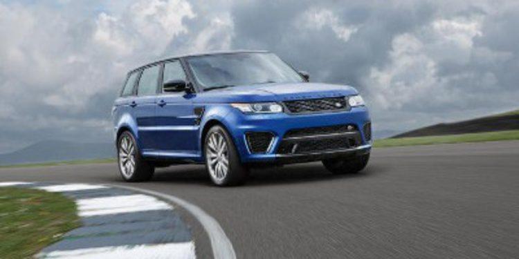 Nuevo Range Rover Sport SVR con 550 caballos