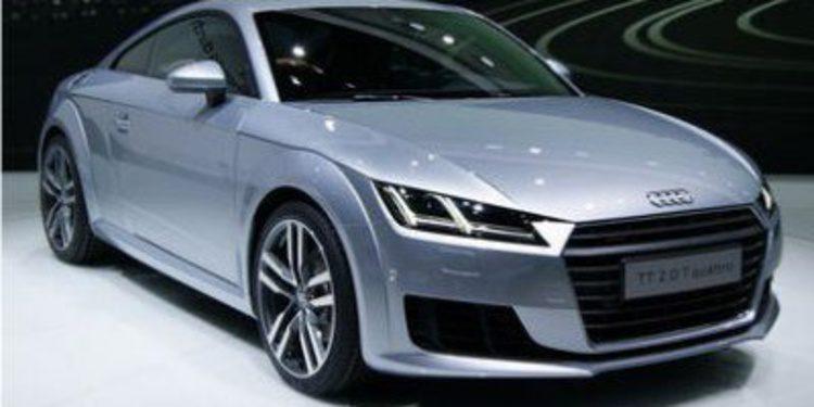 Audi desvela los precios del nuevo TT Coupé