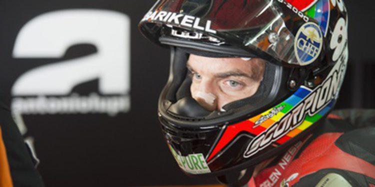 Alex de Angelis debuta con Forward en la República Checa
