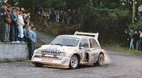 Harri Toivonen y Markko Martin en el 'Rallyday'