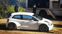 Volkswagen prueba el Polo R WRC en Tarragona