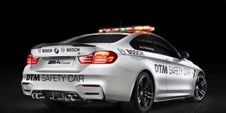 El DTM estrena el BMW M4 Coupé 'Safety Car'