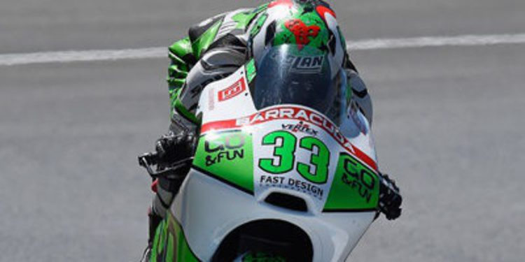 Enea Bastianini arranca Moto3 en Brno al mando